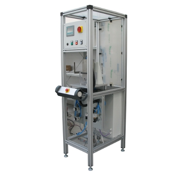 BATH TEST BENCH<br><br>The Tank Testing Bench is characterized by the great visibility of every part of it so that any part or a malfunctioning movement can be easily seen